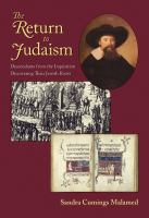 The Return to Judaism