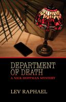 Department Of Death: A Nick Hoffman Mystery
