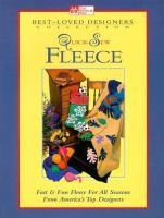Quick-sew Fleece