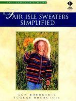 Fair Isle Sweaters Simplified