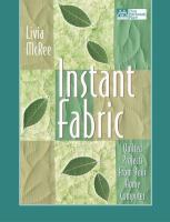 Instant Fabric