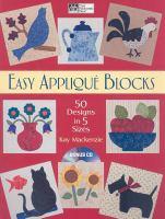 Easy Appliqué Blocks