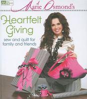 Marie Osmond's Heartfelt Giving