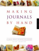 Making Journals by Hand