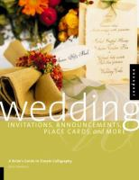 Wedding Invitations, Announcements, Placecards, and More