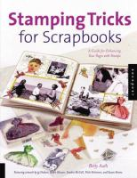 Stamping Tricks for Scrapbooks