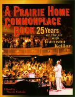 A Prairie Home Commonplace Book