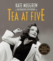 Kate Mulgrew as Katharine Hepburn in Tea at Five