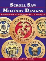 Scroll Saw Military Designs