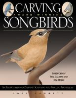 Carving Award-winning Songbirds