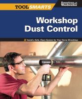Workshop Dust Control