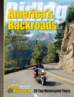 Riding America's Backroads