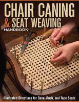 Chair Caning & Seat Weaving Handbook