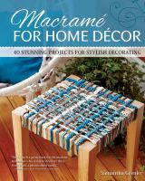 Macramé for Home Decor