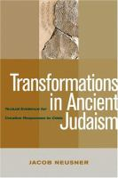 Transformations in Ancient Judaism