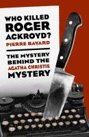 Who Killed Roger Ackroyd?