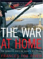 The War at Home