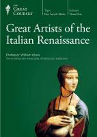 Great Artists of the Italian Renaissance