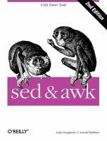 Sed & Awk