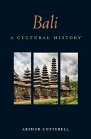 Bali, A Cultural History