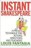 Instant Shakespeare