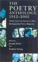 The Poetry Anthology, 1912-2002