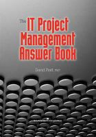 The IT Project Management Answer Book