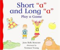 "Short ""a"" and Long ""a"""