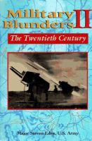 Military Blunders II