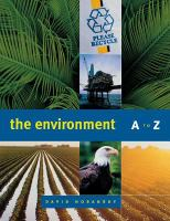 The Environment A to Z
