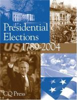 Presidential Elections, 1789-2004