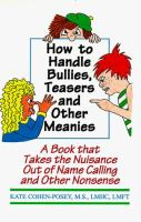How to Handle Bullies, Teasers, and Other Meanies
