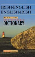 Easy Reference Irish-English English-Irish Dictionary
