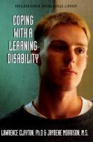 Coping With A Learning Disability