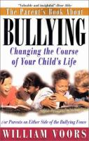 The Parent's Book About Bullying