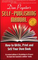 The Self-Publishing Manual, Volume 1