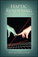 Haptic Rendering