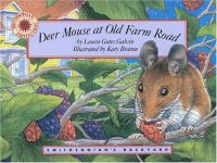 Deer Mouse at Old Farm Road