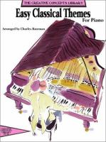 Easy Classical Themes For Piano