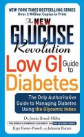 The New Glucose Revolution Low GI Guide to Diabetes