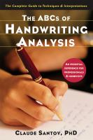 The ABCs of Handwriting Analysis