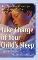 Take Charge of your Child's Sleep