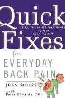 Quick Fixes for Everyday Back Pain