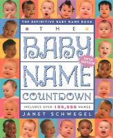 The Baby Name Countdown