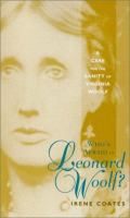 Who's Afraid of Leonard Woolf?
