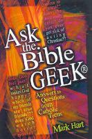Ask the Bible Geek