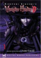 Hideyuki Kikuchi's Vampire hunter D. Volume 1