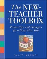 The New-teacher Toolbox