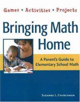 Bringing Math Home