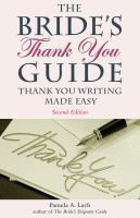 The Bride's Thank You Guide
